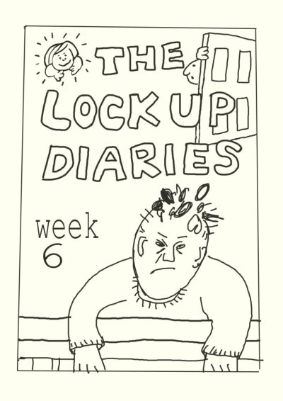 comic cover issue - the Lockup Diaries